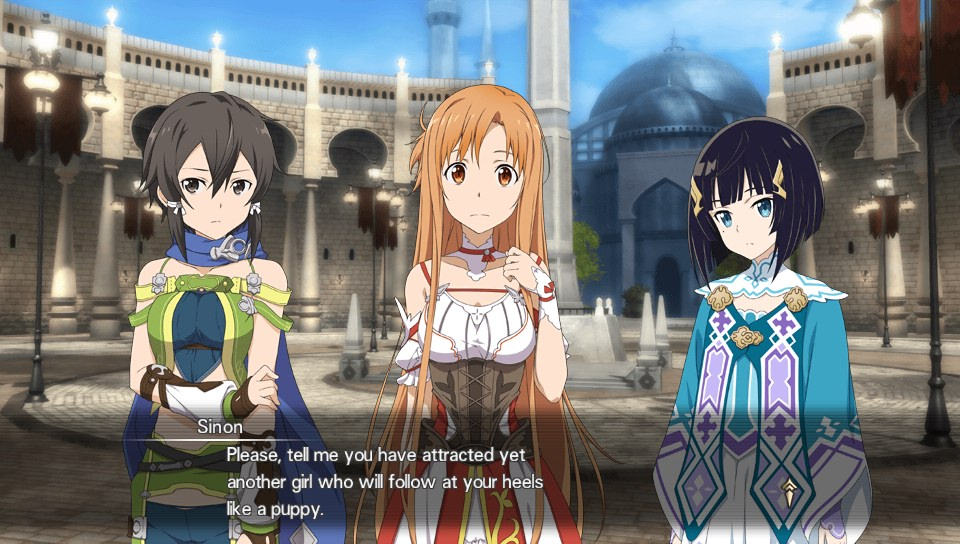 ChCse's blog: Sword Art Online: Hollow Realization (Vita)