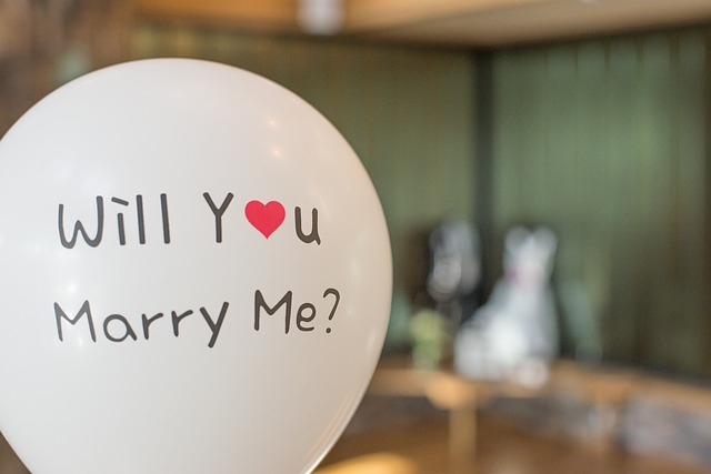 Will Your Marry Me, POP the  Question,