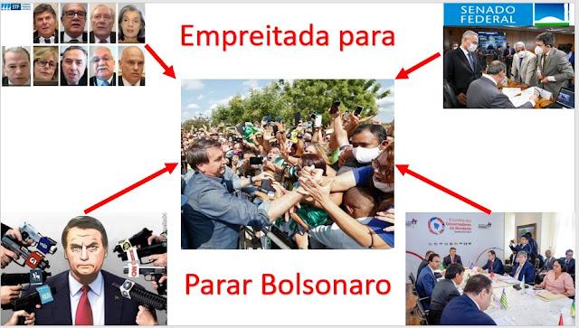 A associação articulada para acabar com Bolsonaro está provocando desfecho perigosíssimo - é nosso opinião