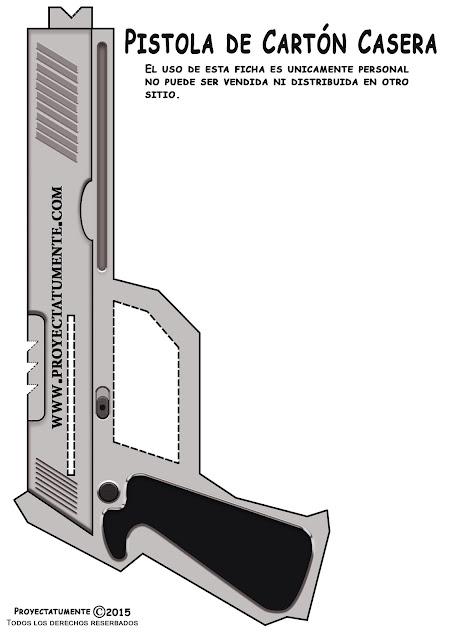 Lado derecho de la pistola