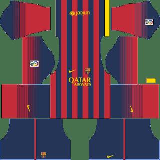 Kit DLS FC Barcelona 2013/2014