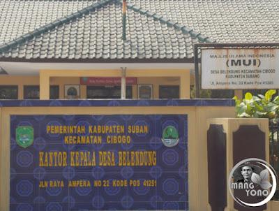 FOTO 1 : Desa Belendung, Kecamatan Cibogo