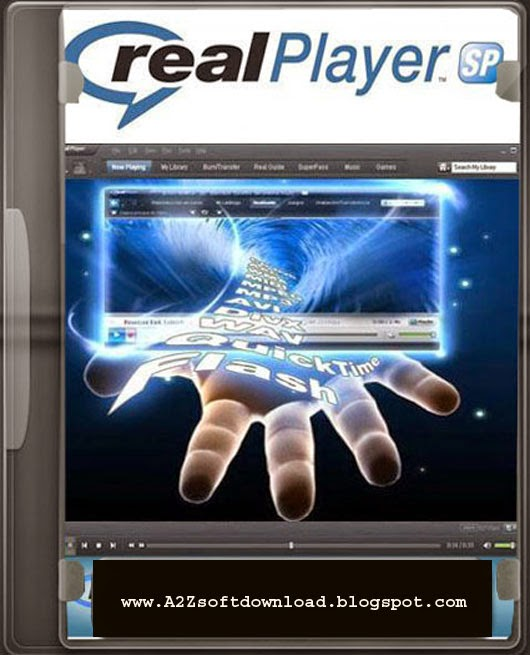 A 2 Z Soft Download: Portable-RealPlayer-11 0 0 372-Gold