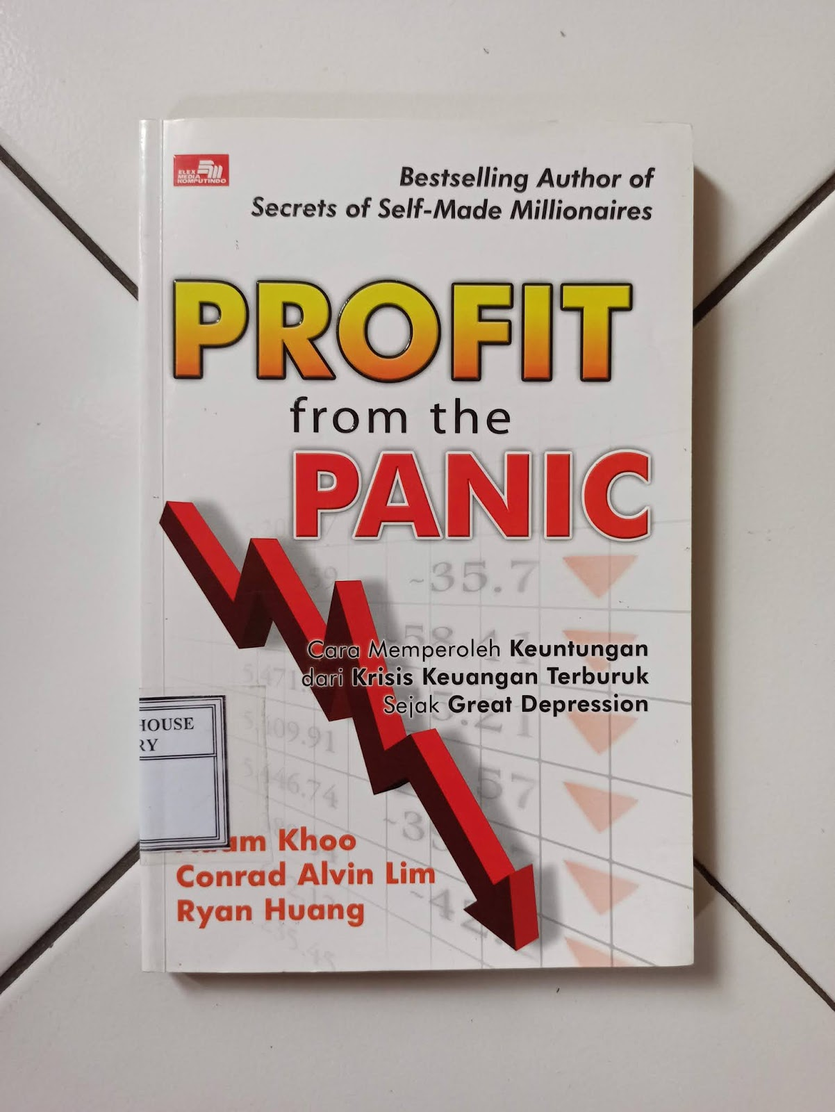 Buku Bekas Profit From The Panic