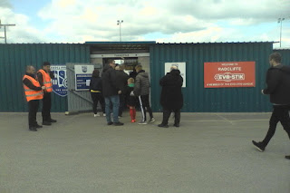 Radcliffe FC ahead of play-off final against Leek Town