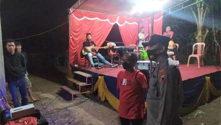 Latihan Musik Organ Plus Dihentikan Polisi di Kutowinangun Kebumen
