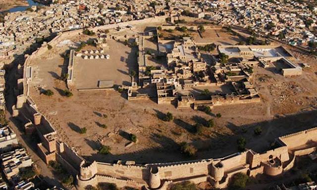 Ahhichatragarh Fort Tourist Attraction Nagaur Rajasthan