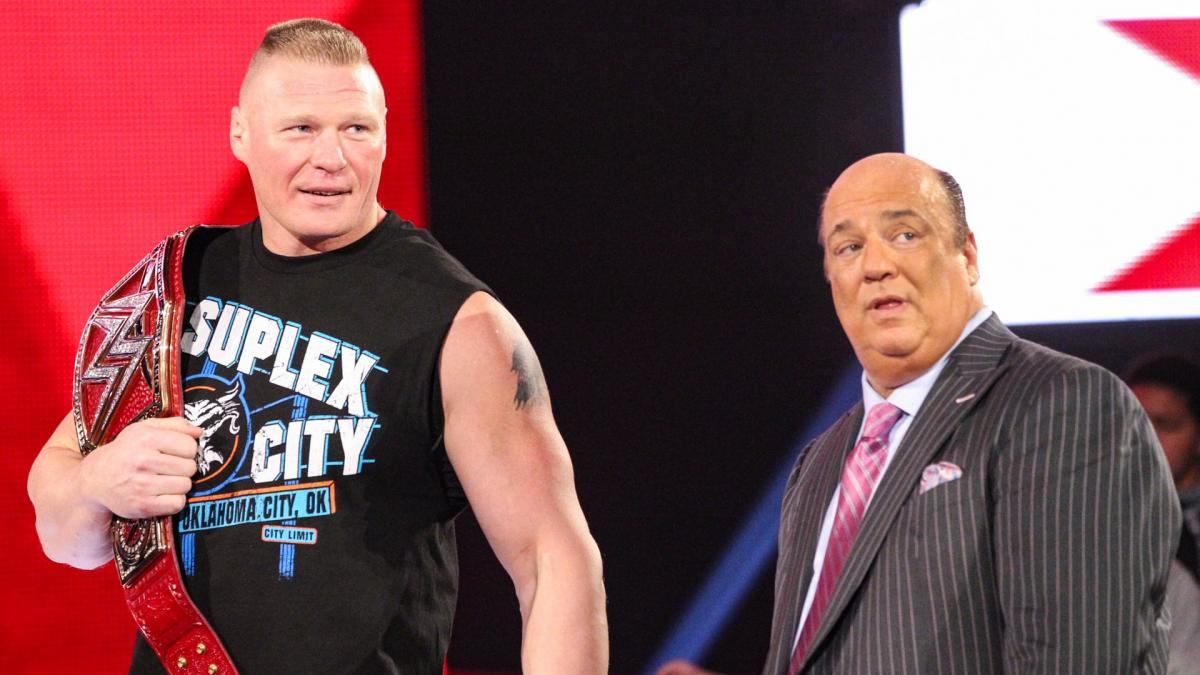 Paul Heyman dá dica sobre o retorno de Brock Lesnar