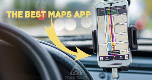 4 Aplikasi Peta Navigasi Terbaik Untuk Android dan iPhone