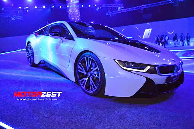 Sachin Tendulkar BMW i8 Launch India