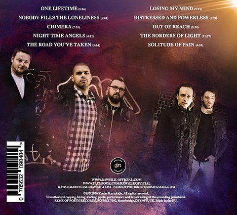 RAW SILK - The Borders Of Light [CD Edition +1] (2017) back