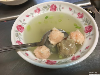 綜合丸湯(蝦丸與肉丸)
