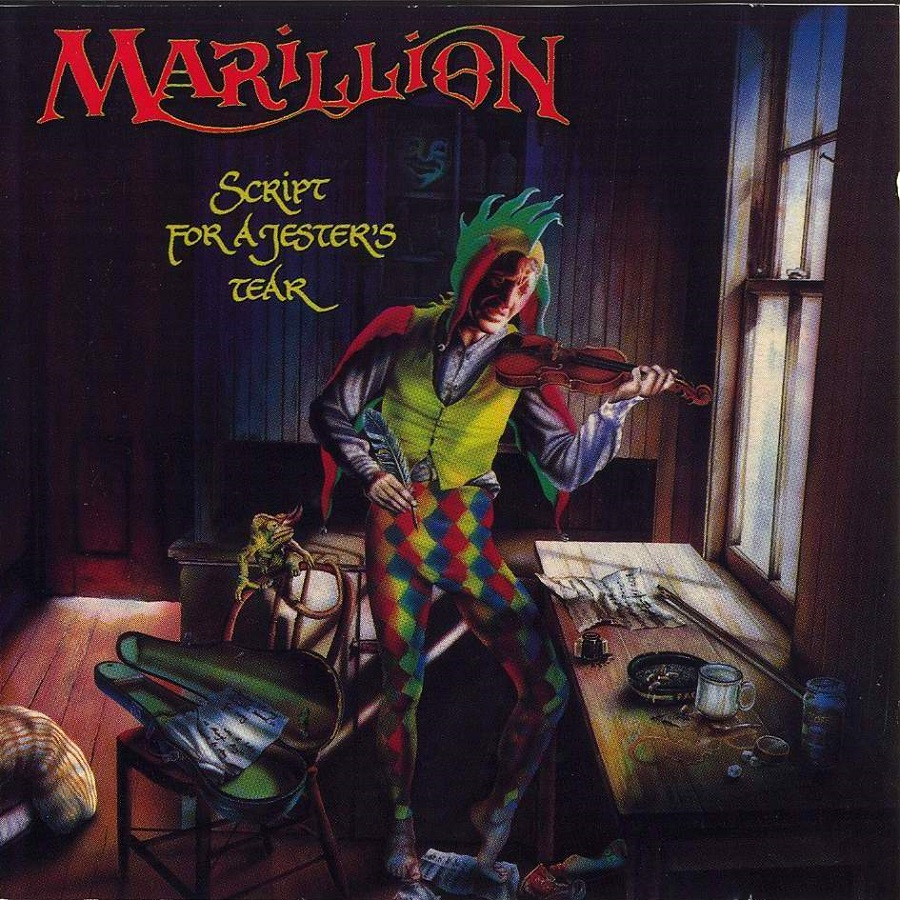 87343399714 The artwork was created by Mark Wilkinson who would be commissioned to the  role on all Marillion LPs and 12