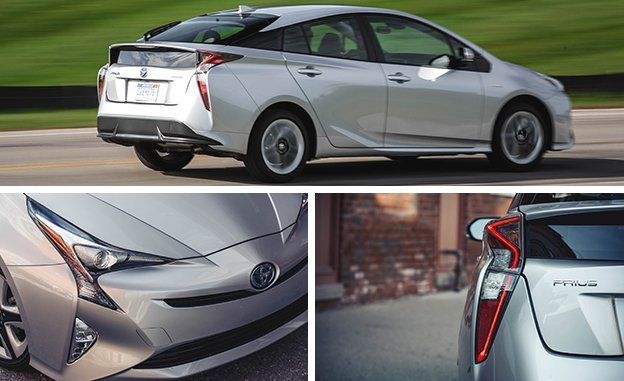2017 Toyota Prius Configurations Three Touring
