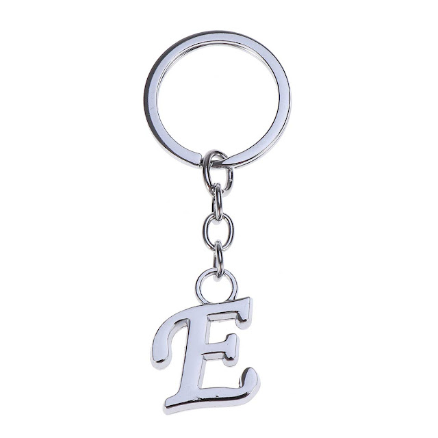 A to Z letters Key Chains