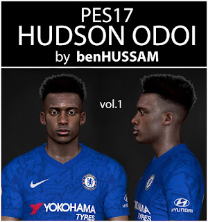 PES 2017 Faces Callum Hudson-Odoi by BenHussam
