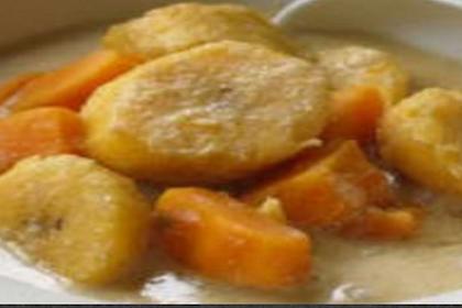 Resipi nangka Banana Porridge