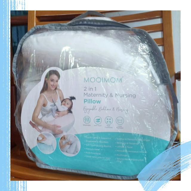 Aktivitas menyusui jadi lebih nyaman sejak menggunakan 2in1 Maternity and Nursing pillow with cover. Bantal multifungsi yang dapat digunakan untuk berbagai keperluan mulai dari masa kehamilan menyusui hingga dijadikan bantal tidur bayi serta momen berkualitas dengan bayi tentunya!