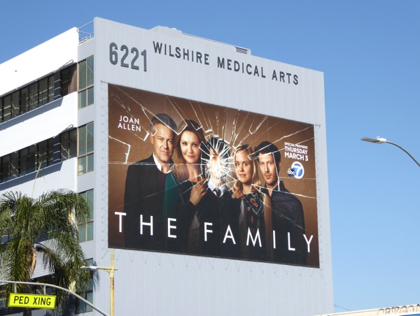The Family series premiere billboard