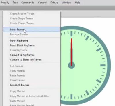 Tutorial Membuat Jam Dinding di Adobe Flash