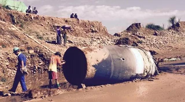 Heboh Benda Misterius Jatuh dari Langit di Myanmar, Bikin warga ketakutan
