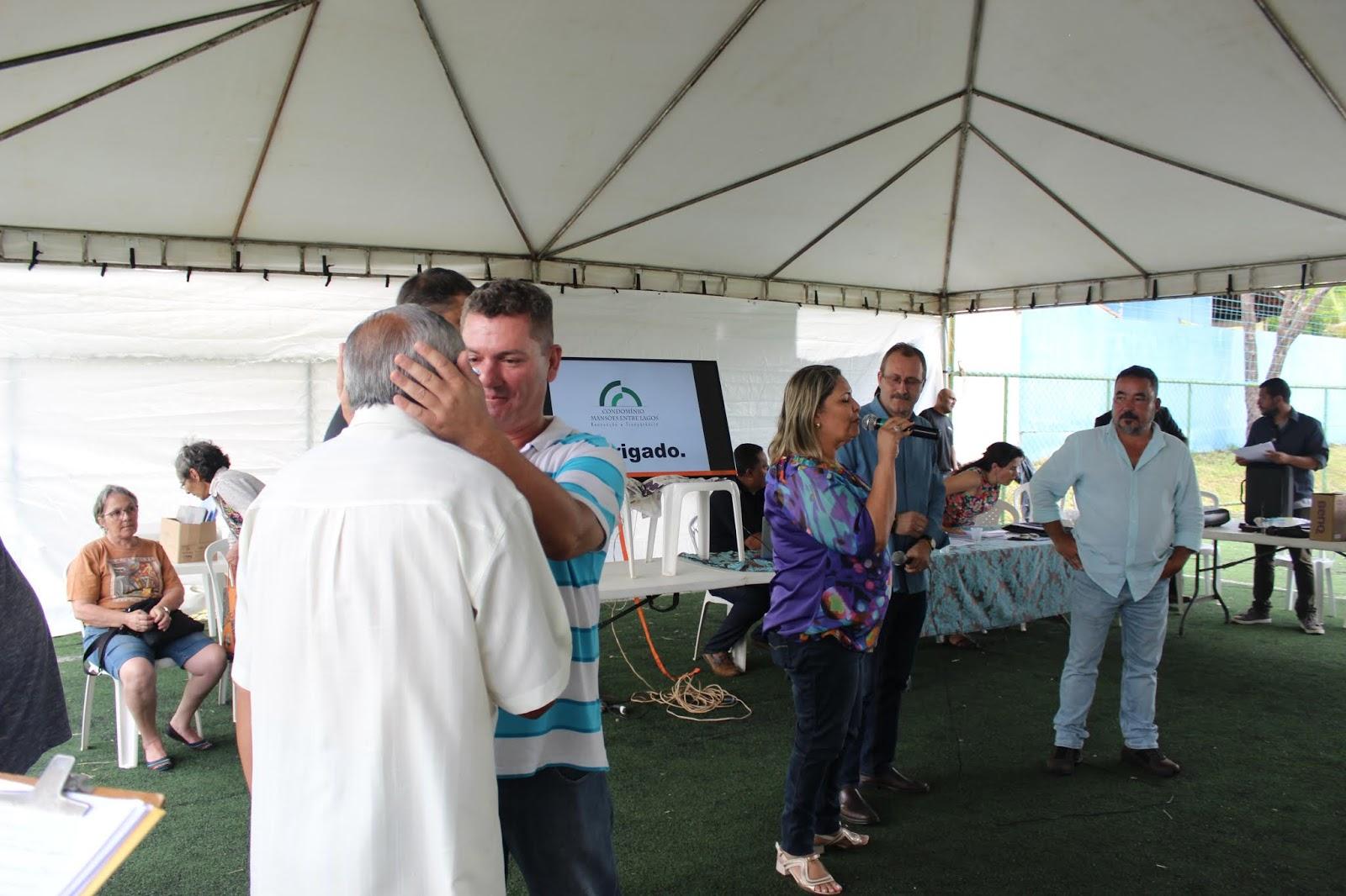IMG 2846 - Novo administrador do Paranoá, Sergio Damasceno, começa seu primeiro dia de trabalho no Domingo ouvindo a comunidade local.