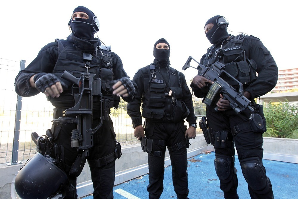 French National Police Intervention Group Gipn Global