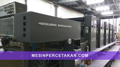 Heidelberg SM 102F 5 color