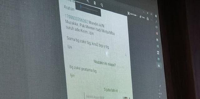 Percakapan Sespri Edhy Prabowo Diungkap, Ada Permintaan Transfer Uang Untuk Kader Gerindra