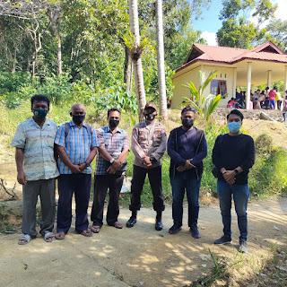 Polsek Daik lingga Gelar Pengamanan  Pengobatan dan Pengecekan Kesehatan Gratis RSA Nusa Waluya II