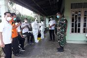 Uji Swab 9 Orang Warga Desa Tabun Dipantau Kpt Inf Agussari