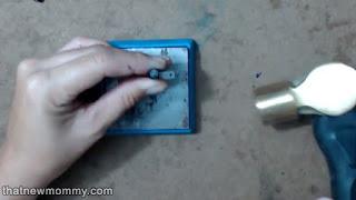 Beaded Metal Stamped Coordinates Bracelet Tutorial - ThatNewMommy Makes --