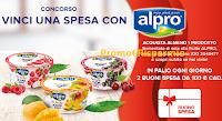 Logo Danone ''Vinci un buono spesa con Alpro e Unicomm'': 28 buon spesa da 100€ in palio