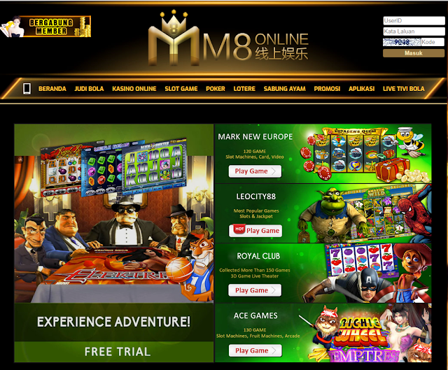 judi casino mesin slot game m8ko