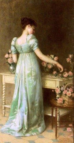 Подборка картин  «Женский образ в американской живописи»