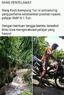 Sang Pahlawan Penyelamat Puluhan Siswi SMPN 1 Turi