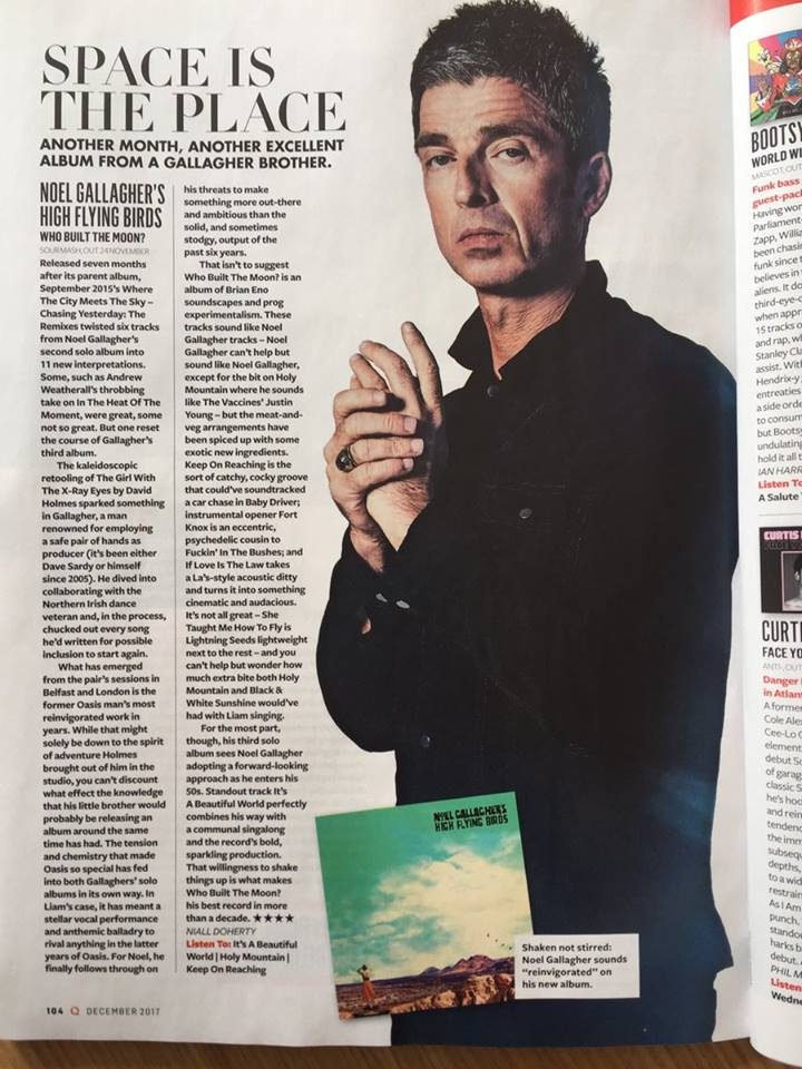 first review of noel gallagher 39 s high flying birds 39 who built the moon. Black Bedroom Furniture Sets. Home Design Ideas