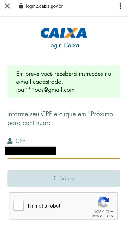 email fraudado aplicativo caixa tem