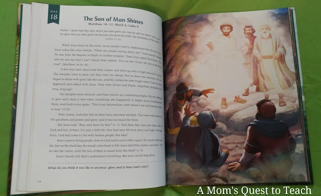 Pages from The Easter Storybook (The Son of Man Shines)