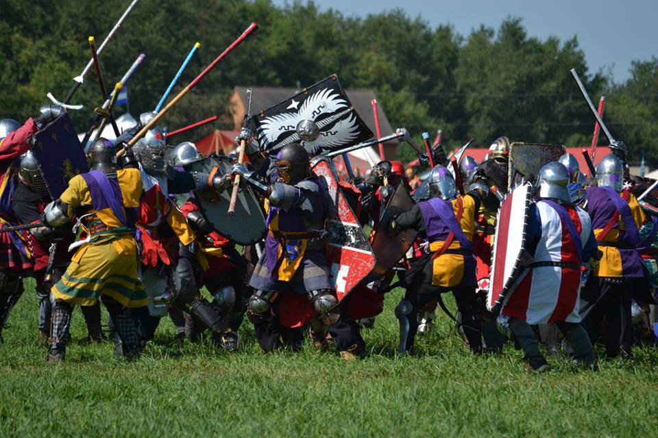 The Tactical Fighter: Heavy Fighting in the SCA: Pennsic's