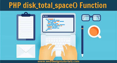 PHP disk_total_space() Function