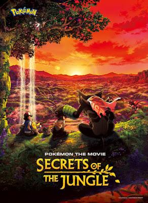 Pokémon the Movie Secrets of the Jungle 2021 DVD Custom HD  NTSC Latino