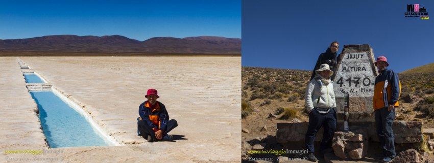 4170 metri sul livello del mare, distesa di sale - Viaggi, Argentina