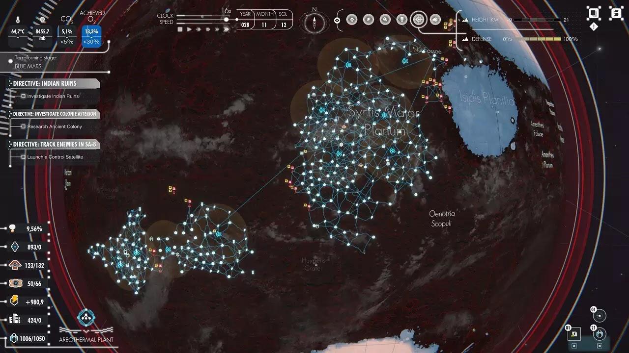 Per Aspera game screenshots