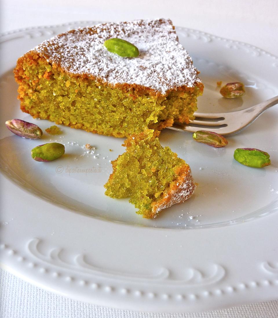 Favoloso Di pasta impasta: Torta di pistacchi (ricetta brontese) MQ95