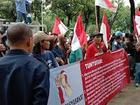 Mentri BUMN Di Demo Minta SW Tersangka Korupsi Segera di Pecat Dari BANK BTN