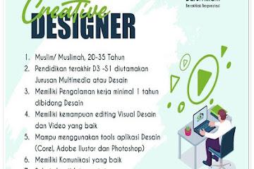 Lowongan Kerja Bandung Creative Designer Darul Hikam