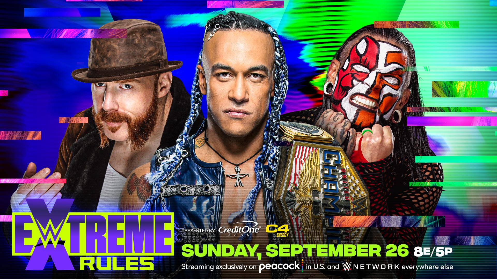 Jeff Hardy disputará o WWE United States Championship no Extreme Rules