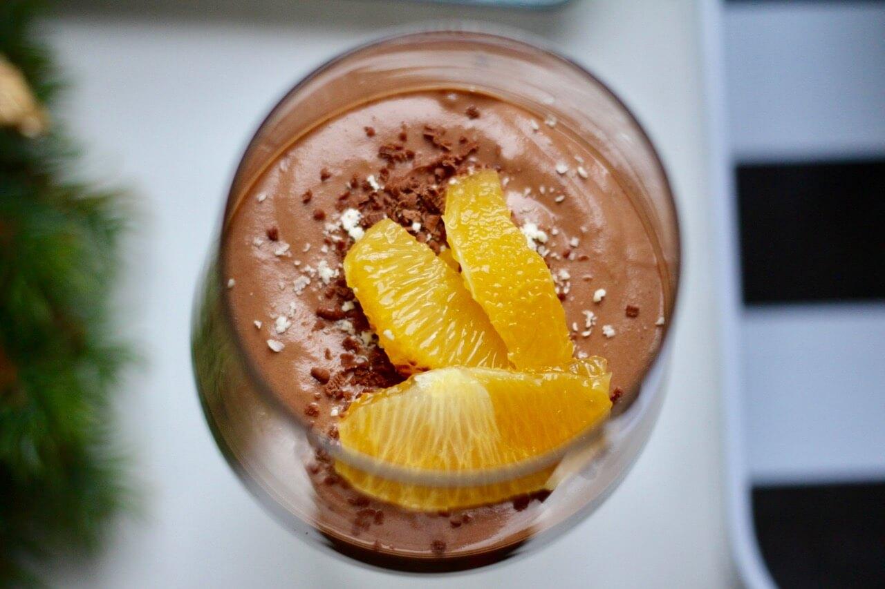 Schokoladencreme mit Orangen