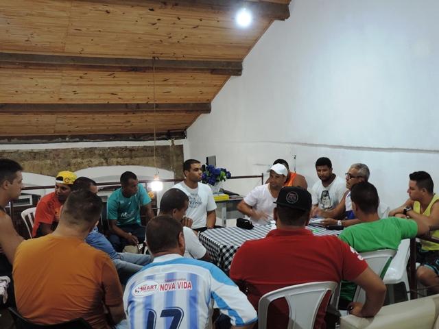 Divisão de esportes realiza primeira reunião referente ao Campeonato Iguapense 2016